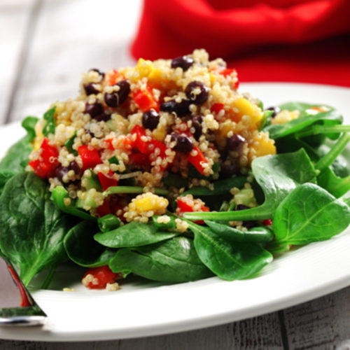 Spicy quinoa and mango salad : FEED YOUR LIFE